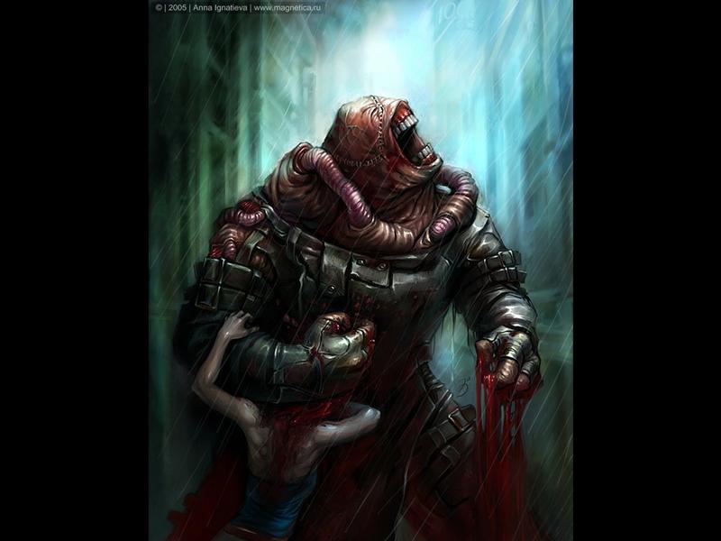 48 Resident Evil Nemesis Wallpaper On Wallpapersafari