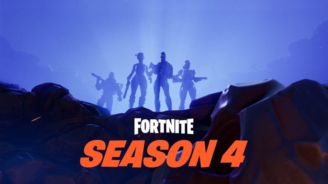 Fortnite Season 4 Poster Wallpapers Brace For Impact Fortnite 1140x641