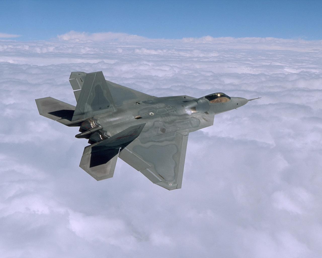 F 22 Raptor wallpapers F 22 Desktop Wallpapers 1280x1024