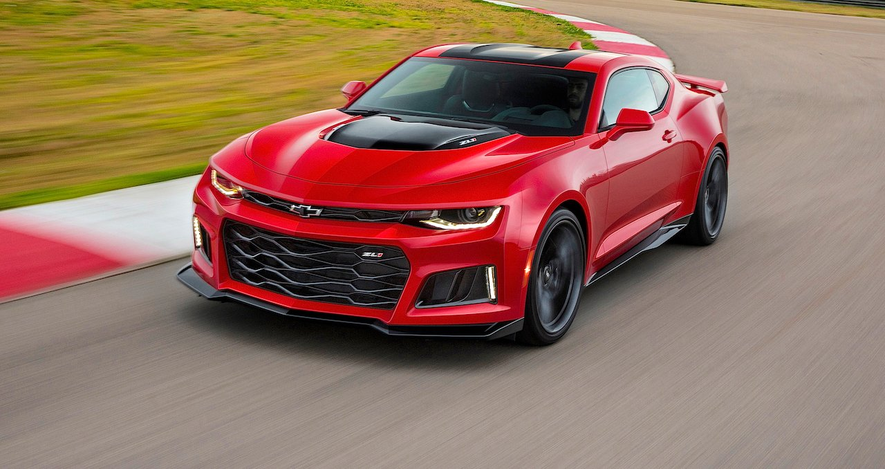 2017 Chevrolet Camaro ZL1 Car Wallpaper 1280x678