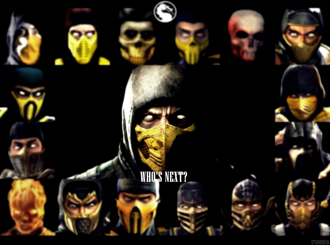 Mortal Kombat X   Scorpions Evolution Wallpaper by StainBreak on 1140x848