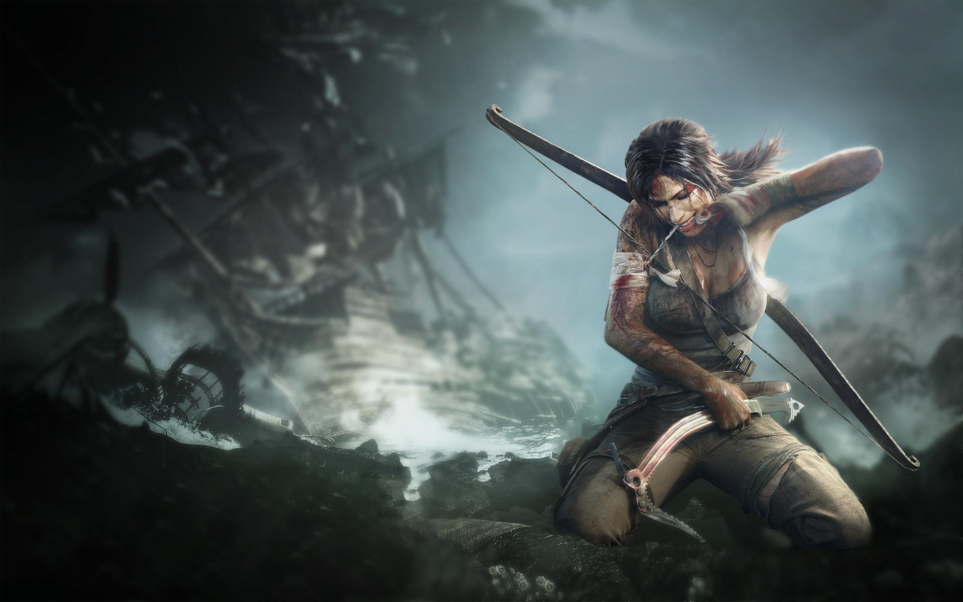 Free Download Tomb Raider 2013 Lara Croft 4k Hd Wallpaper