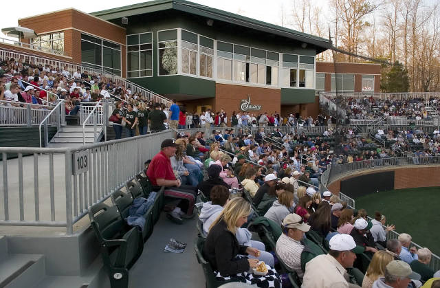Sells Out Lower Level for Second Straight Year   Charlotte 49ers 640x419