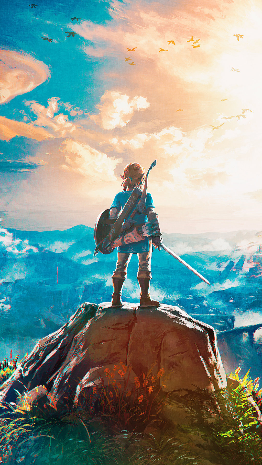 87 Legend Of Zelda Breath Of The Wild Wallpapers On Wallpapersafari