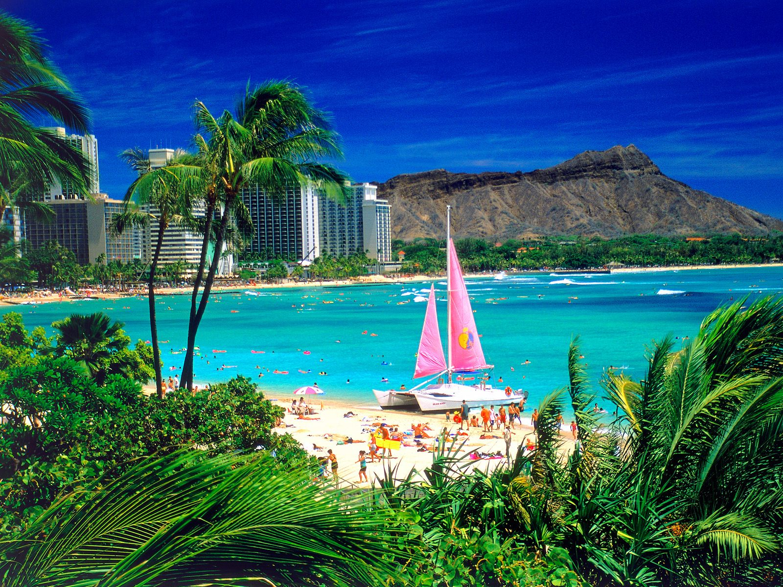Waikiki Oahu Hawaii Wallpapers HD Wallpapers 1600x1200
