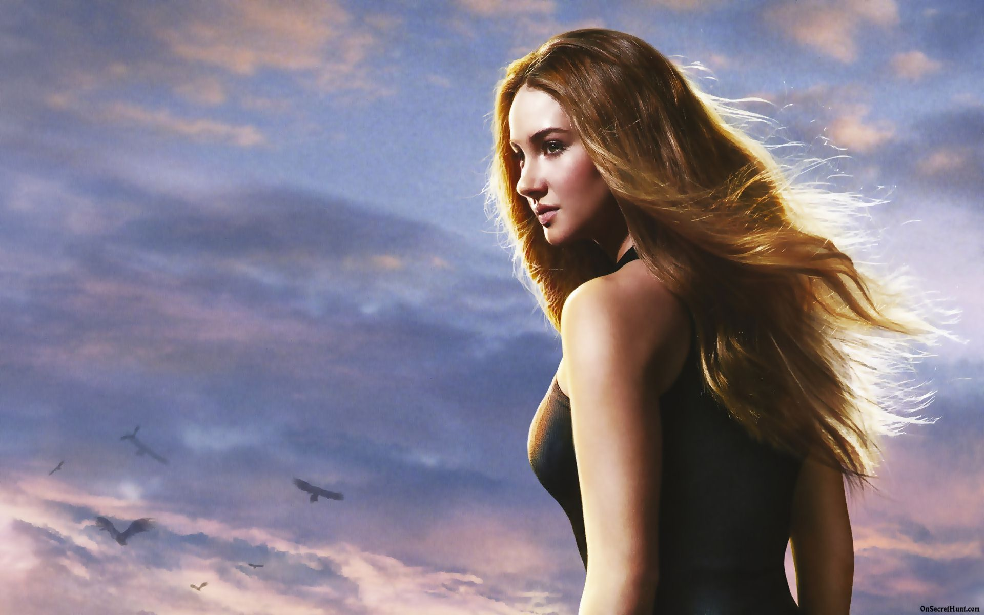 Shailene Woodley Divergent HD Wallpaper Background Images 1920x1200