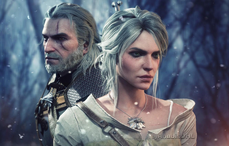 Wallpaper The Witcher The Witcher deviantart Geralt Geralt 1332x850