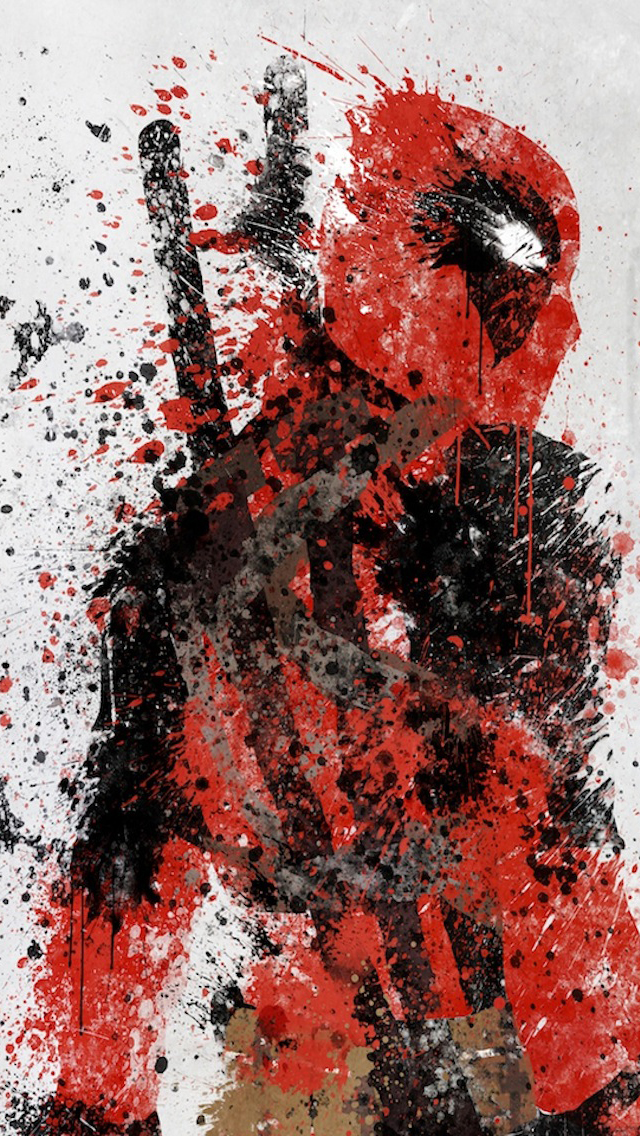 Deadpool iPhone 5 Wallpaper 640x1136 640x1136