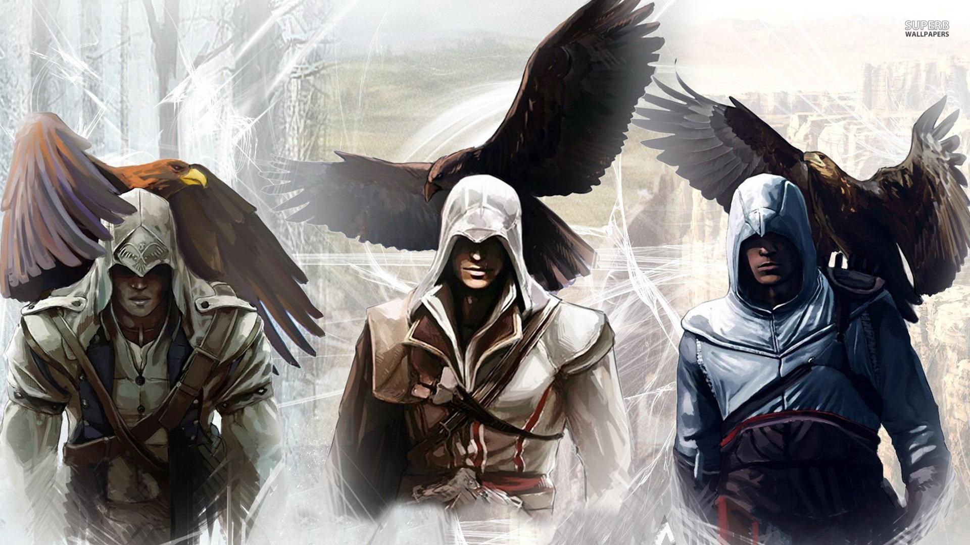 Assassins Creed Brotherhood Wallpaper 40699 Hd Wallpapers Background 1920x1080