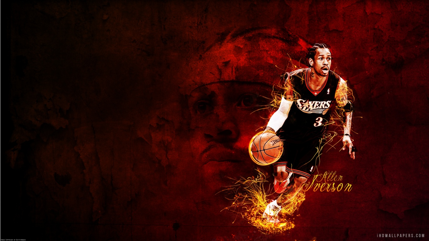 Free Download Allen Iverson Hd Wallpaper Ihd Wallpapers