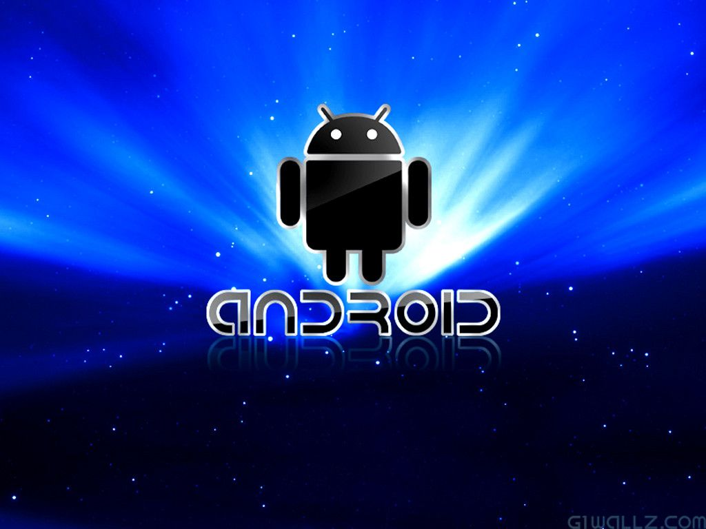 Android Wallpapers Blue 1024x768