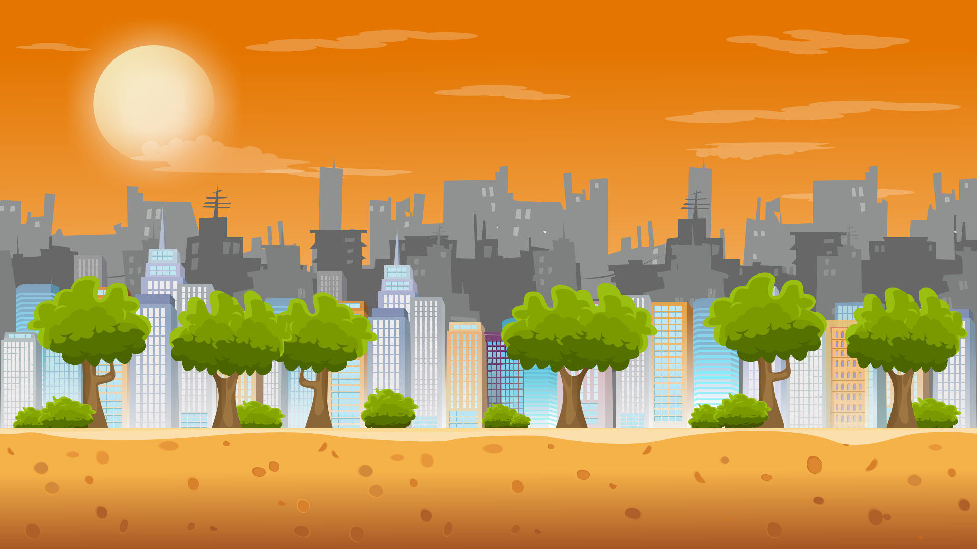 3 Parallax Backgrounds OpenGameArtorg 1920x1080