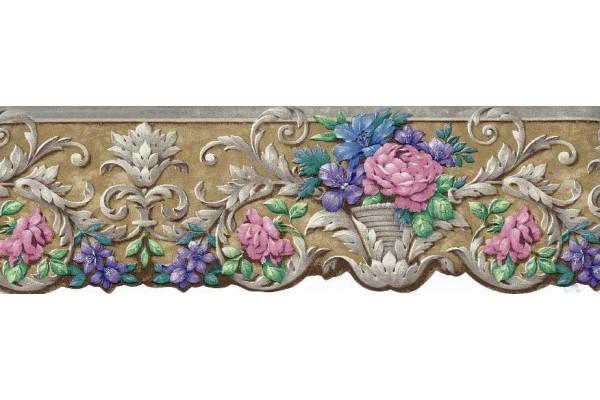 Wallpaper Border Crown Molding Look Wallpapersafari