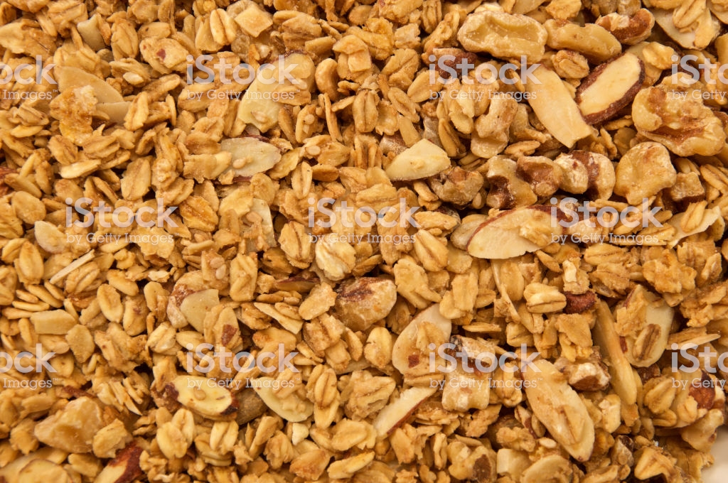 All Natural Home Made Granola Background Stock Photo   Download 1024x680