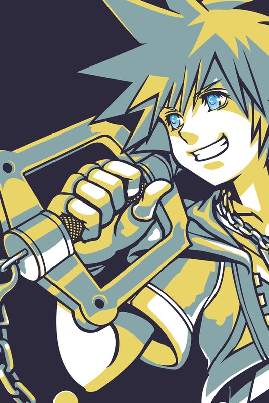 iPhone Wallpapers   Kingdom Hearts Insider 533x800