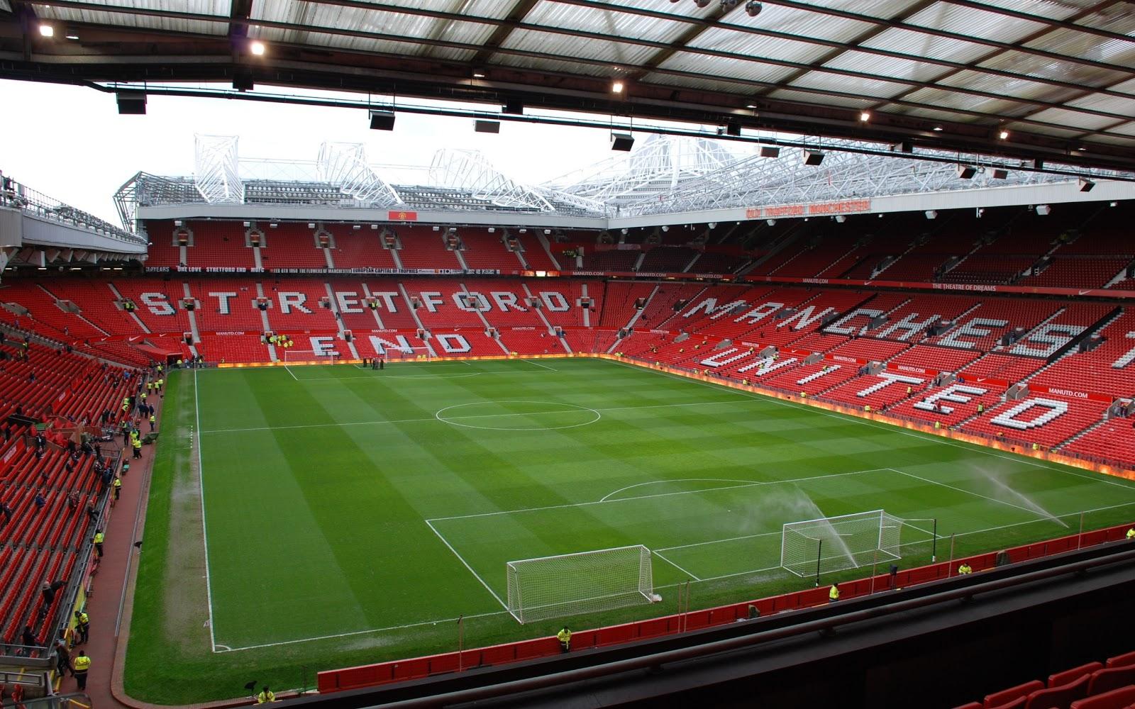 FOOTBALLERS CLUB [wallpaper] MANCHESTER UNITED TEAM STADIUM 1600x1000