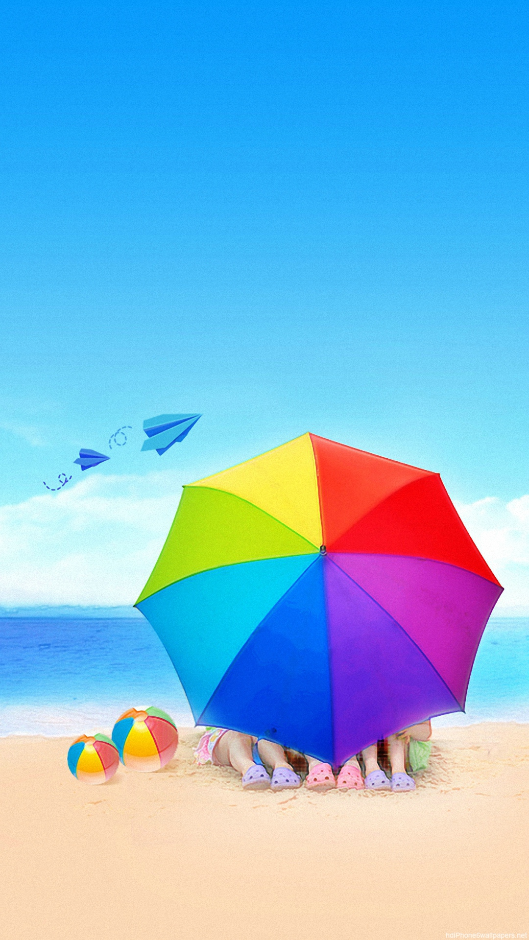 Beach Iphone 6 Wallpaper Wallpapersafari