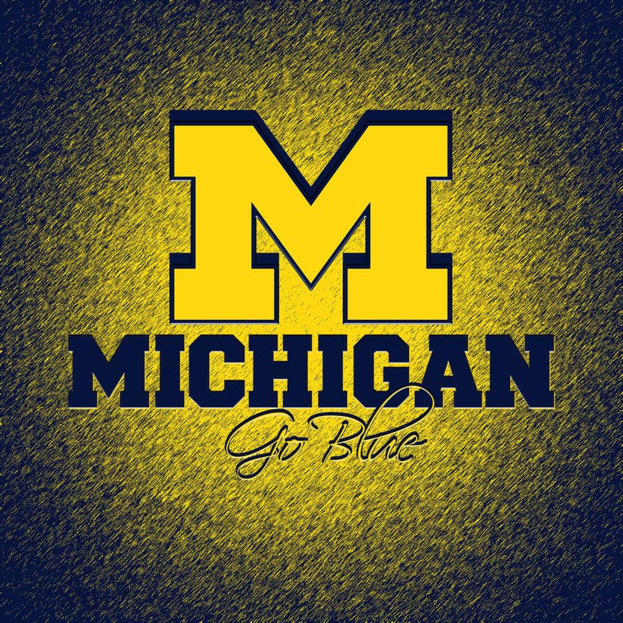 Michigan Wolverines HD iPad Wallpaper by hp31308 894x894