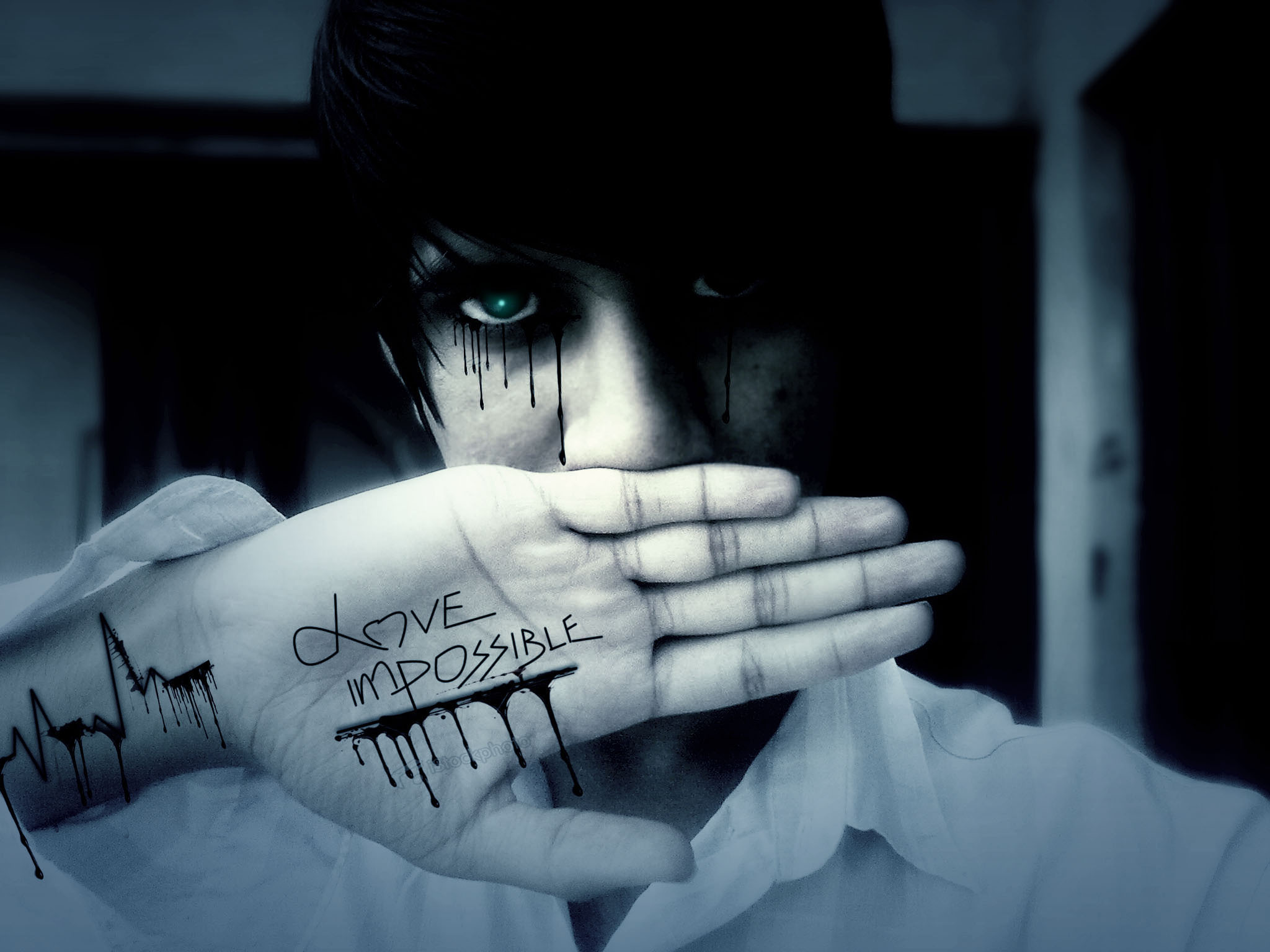 Emo Love Wallpapers Emo Boys Pictures to pin 2048x1536