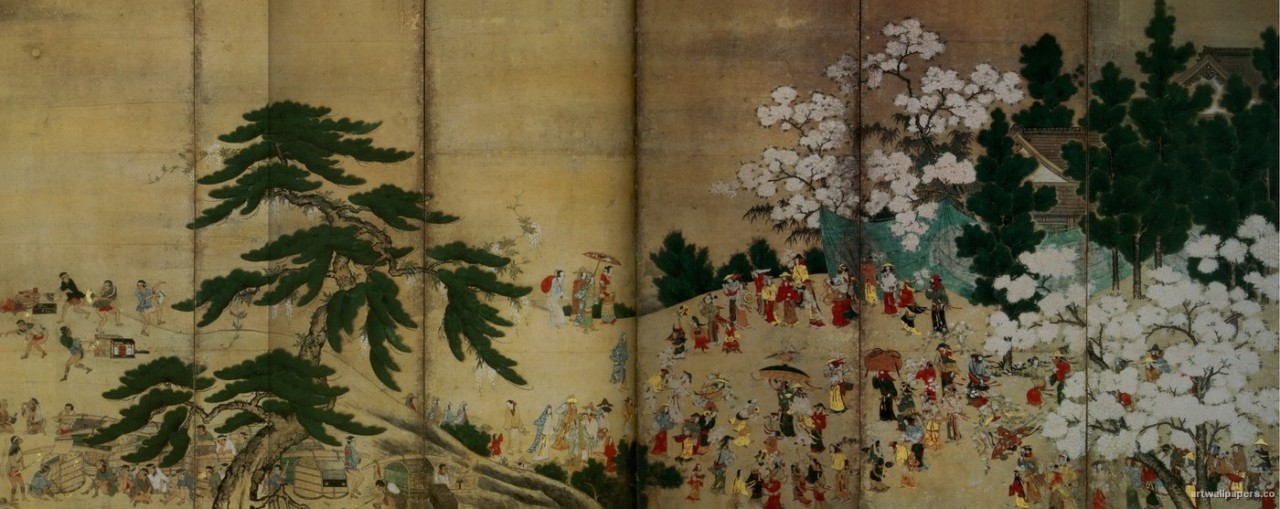 Pin Japanese Wallpapers Traditional Wallpaper 1400x557
