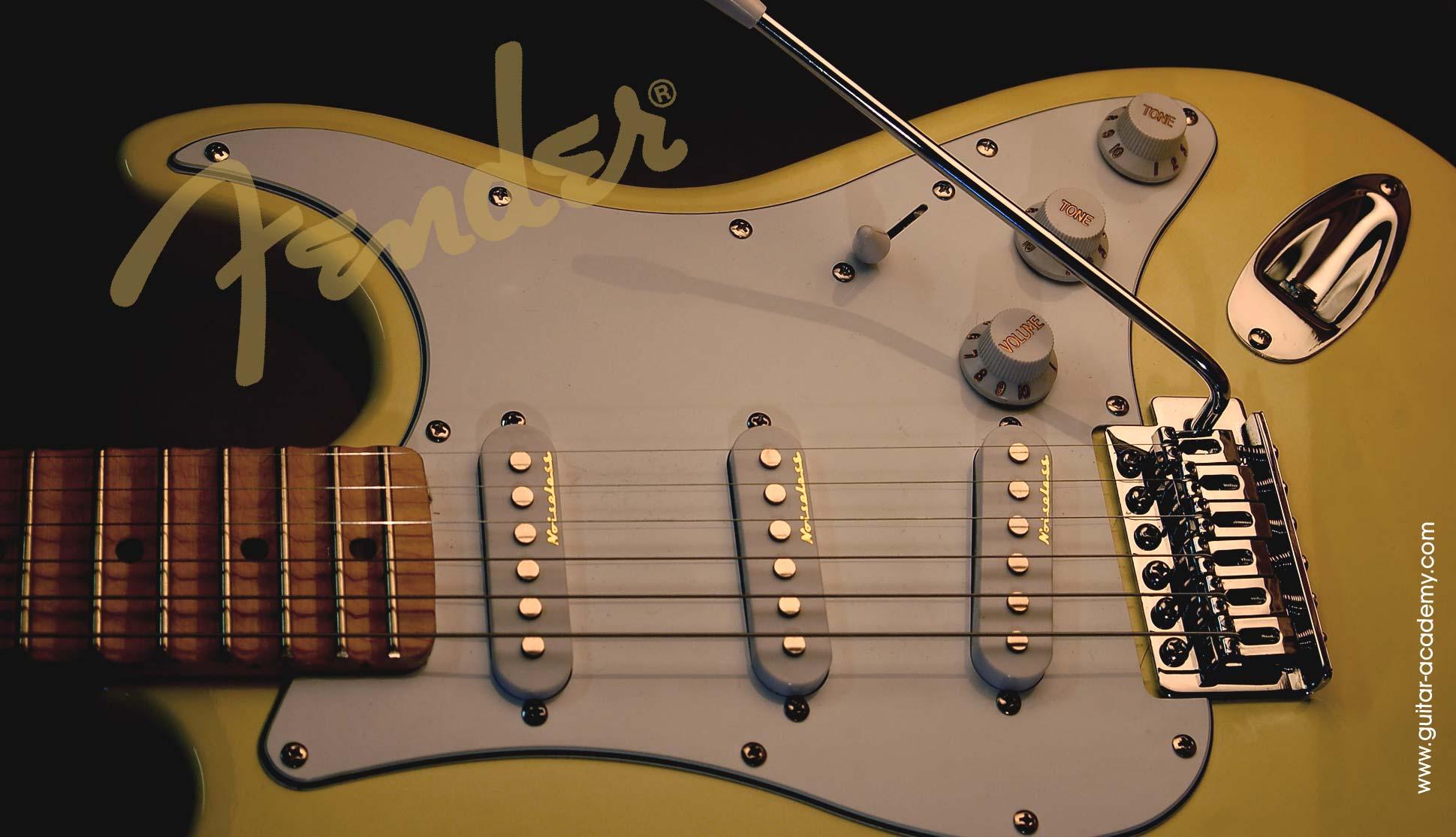 Guitar wallpaper Fender Stratocaster guitar 1939x1114