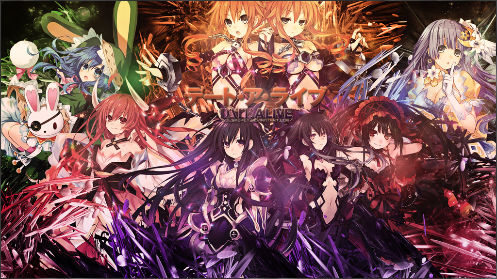 Date A Live Wallpaper by lolSmokey 1024x576