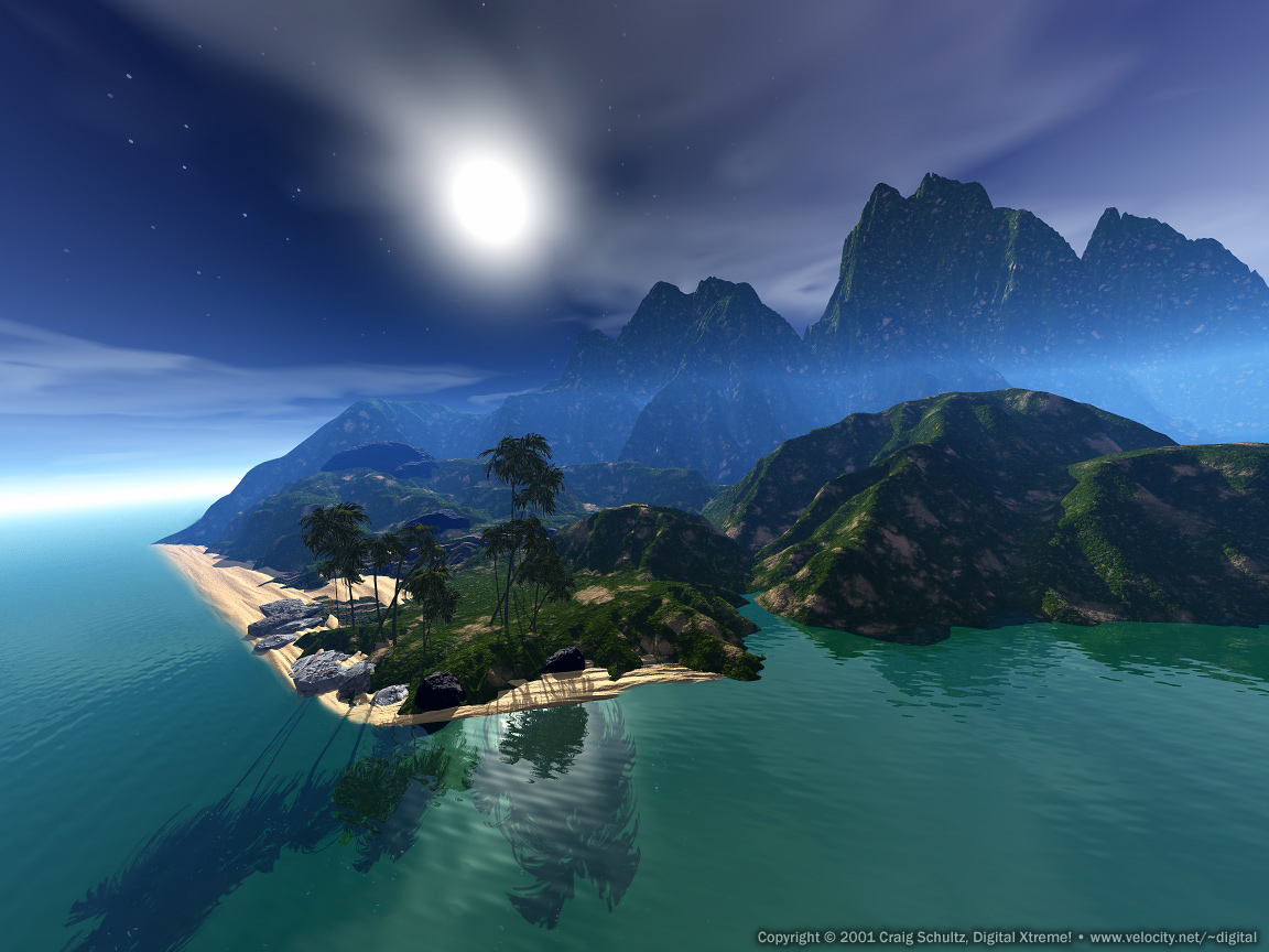 Tropical Paradise Wallpaper High Resolution: Paradise Wallpaper Desktop