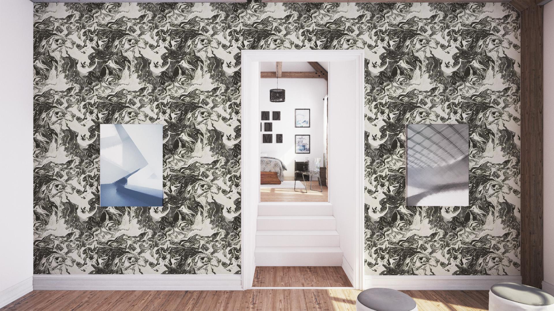 Christian Lacroix Bain de Minuit PCL01602 Wallpaper Jais 1920x1080