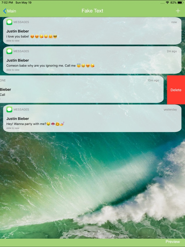 Iphone Fake Messages   643x858 Wallpaper   teahubio 643x858