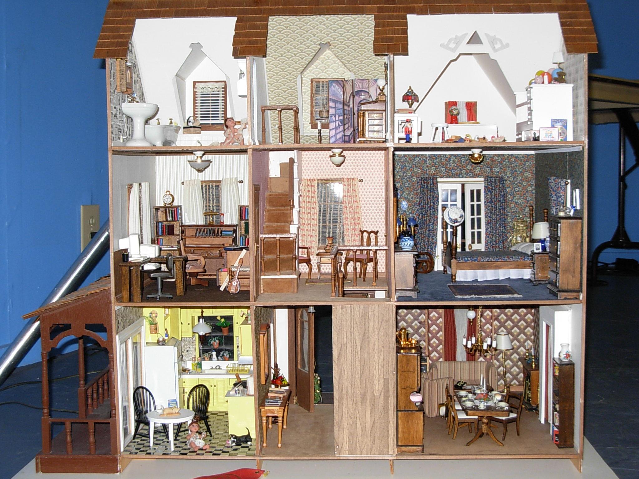 Wallpaper For Dollhouse Wallpapersafari