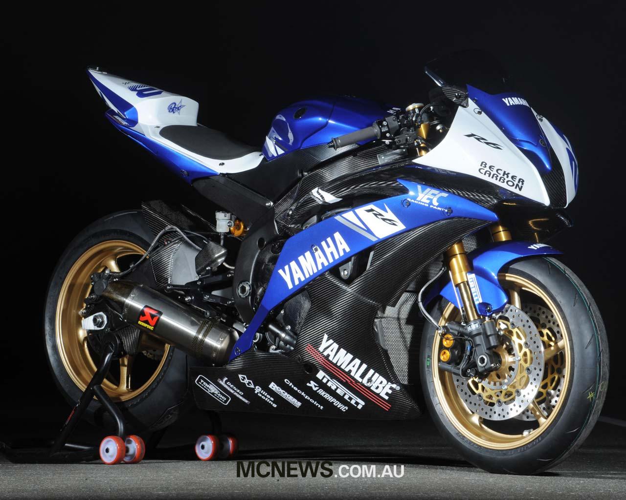 Yamaha R6 Wallpaper 16897 Hd Wallpapers in Bikes   Imagescicom 1280x1024