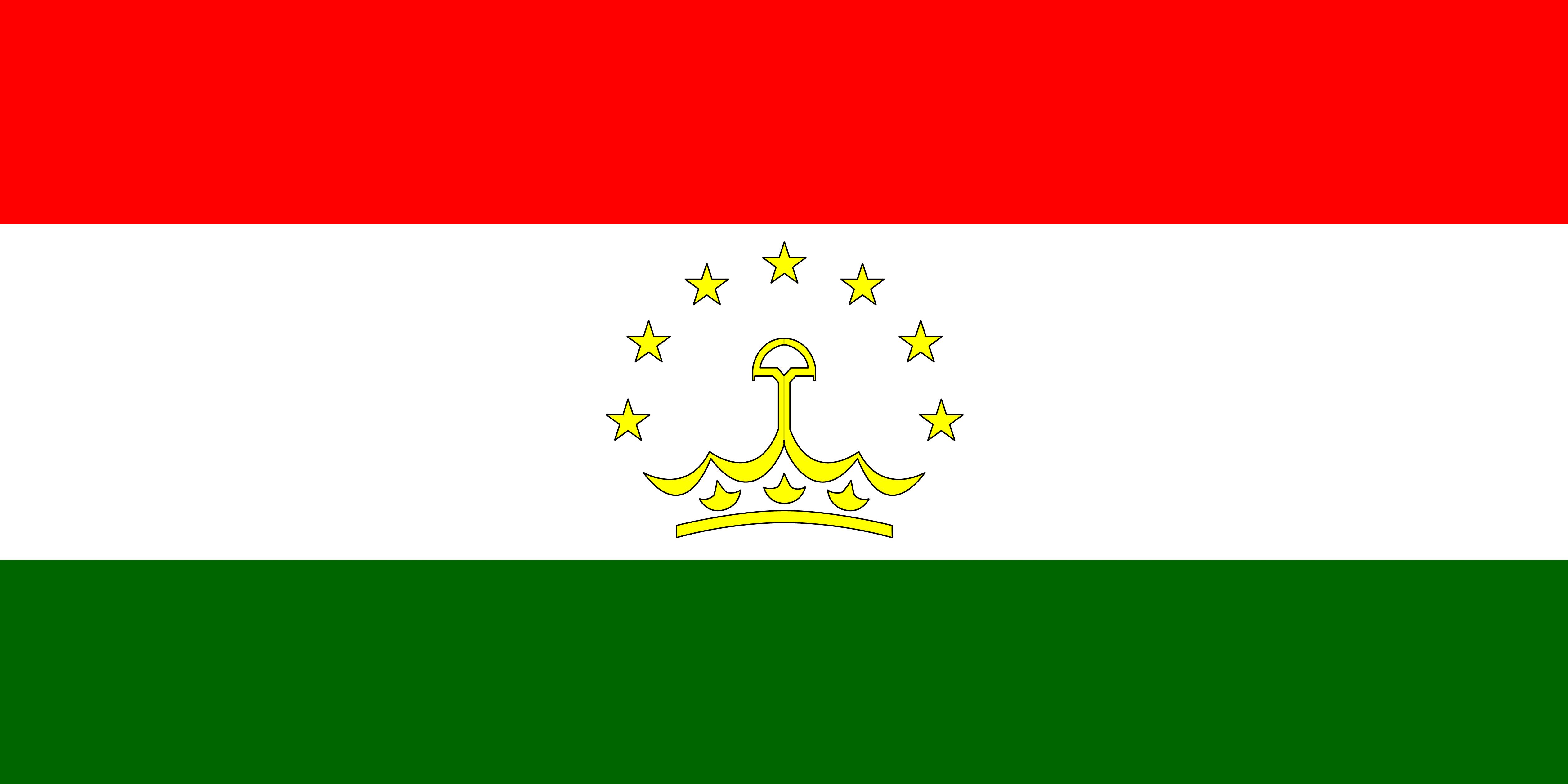 Image Tajikistan Flag Stripes 5054x2527 5054x2527