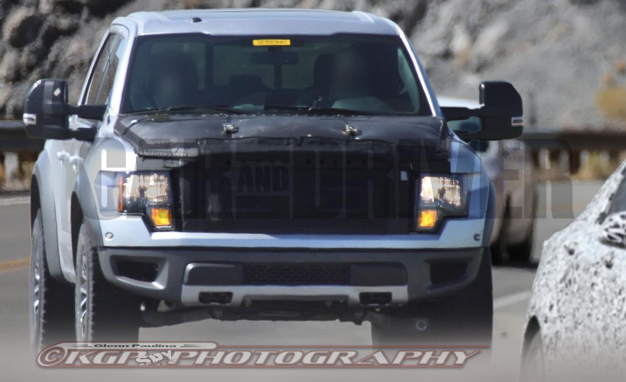 2016 Ford F 150 SVT Raptor spy photo 1280x782