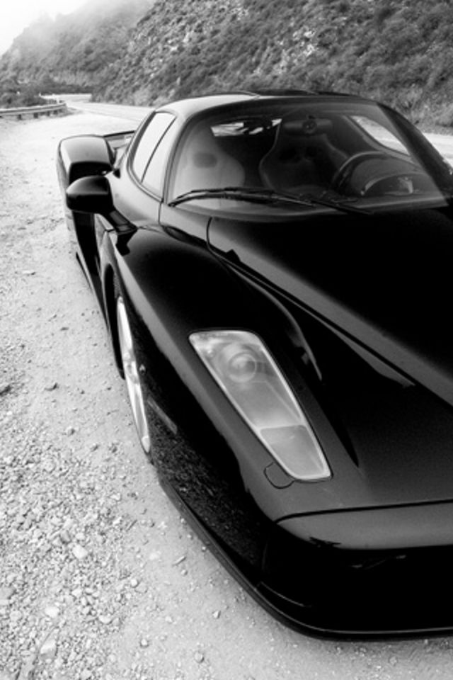 black car 100x150 Amazon Kindle Fire Stock Wallpapers 640x960