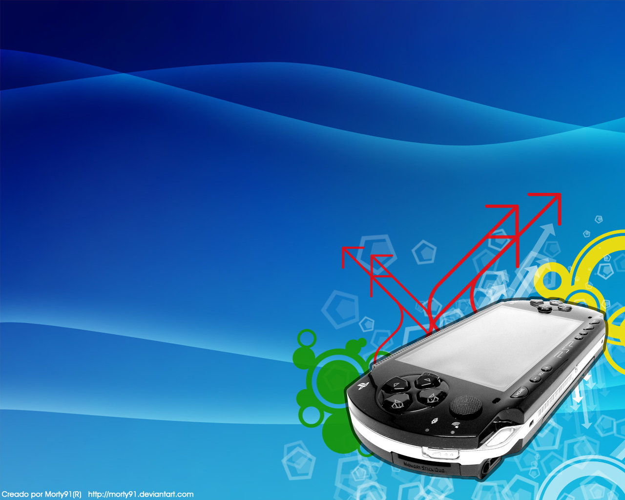 Vector PSP Wallpaper by MoRtY91 1280x1024