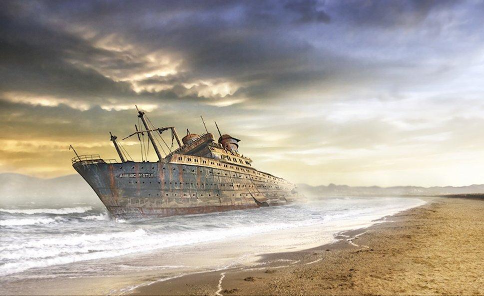 Image Gallery Shipwreck Wallpaper