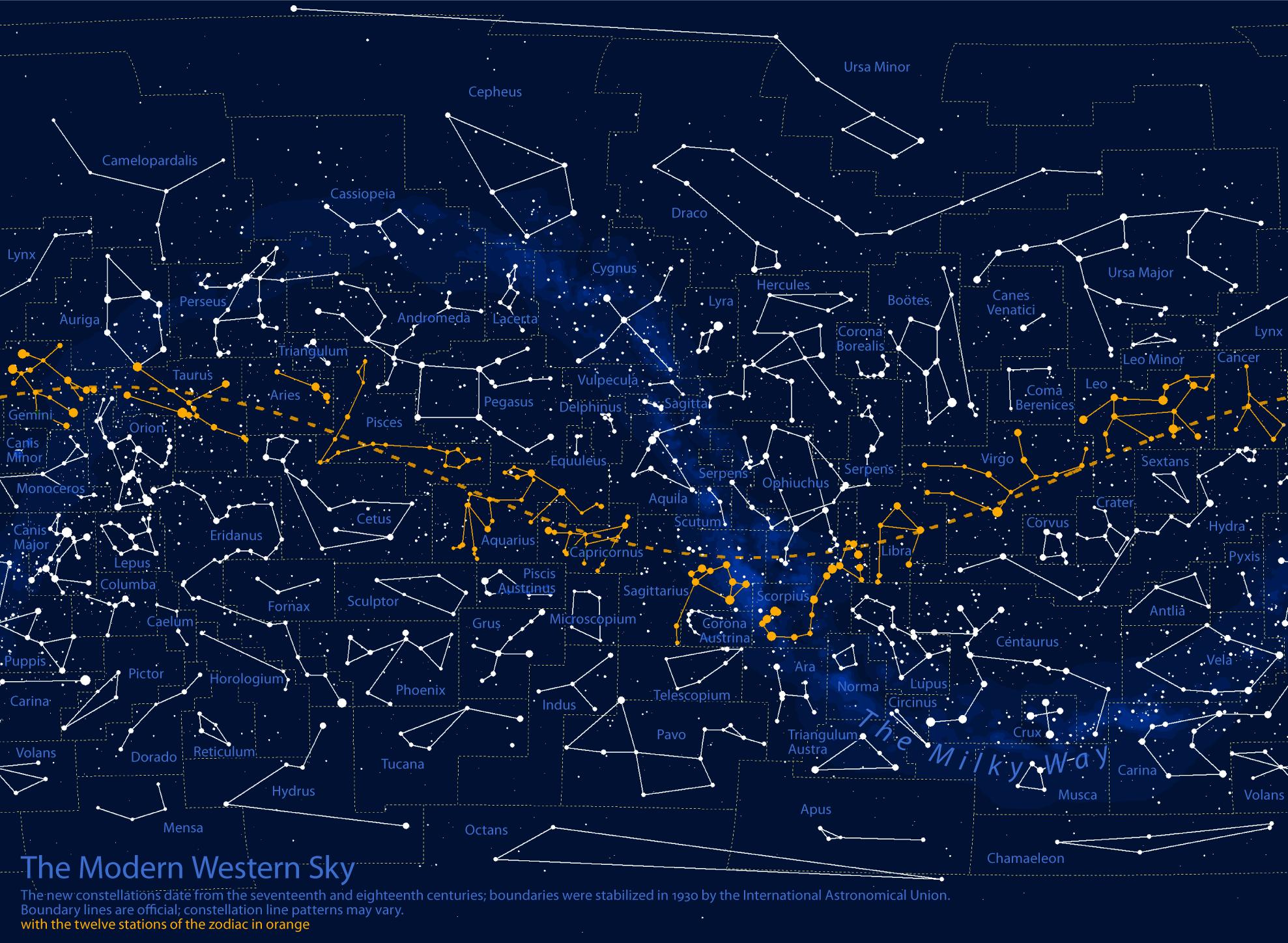 Constellation Wallpaper Ralph Lauren Map geek constellation charts 1977x1448