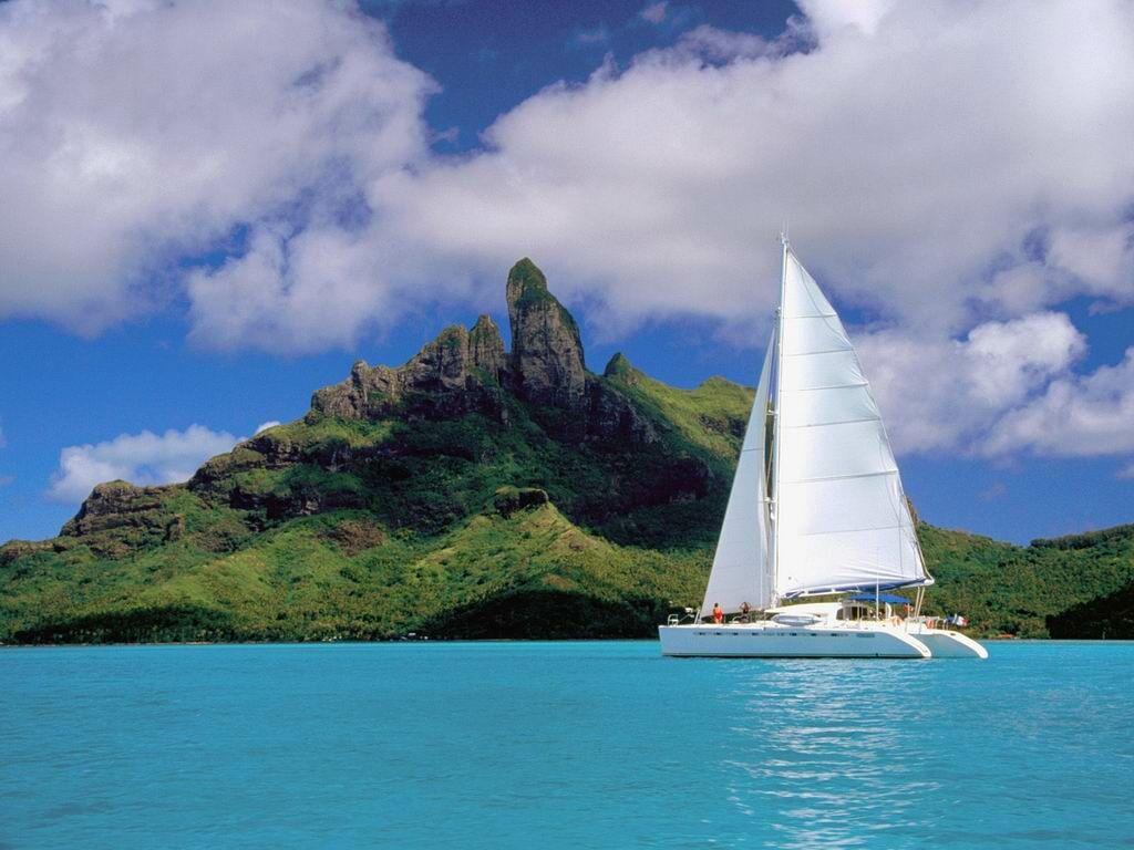 Download Sailing Boats Wallpaper Sailboat In Bora 1024x768