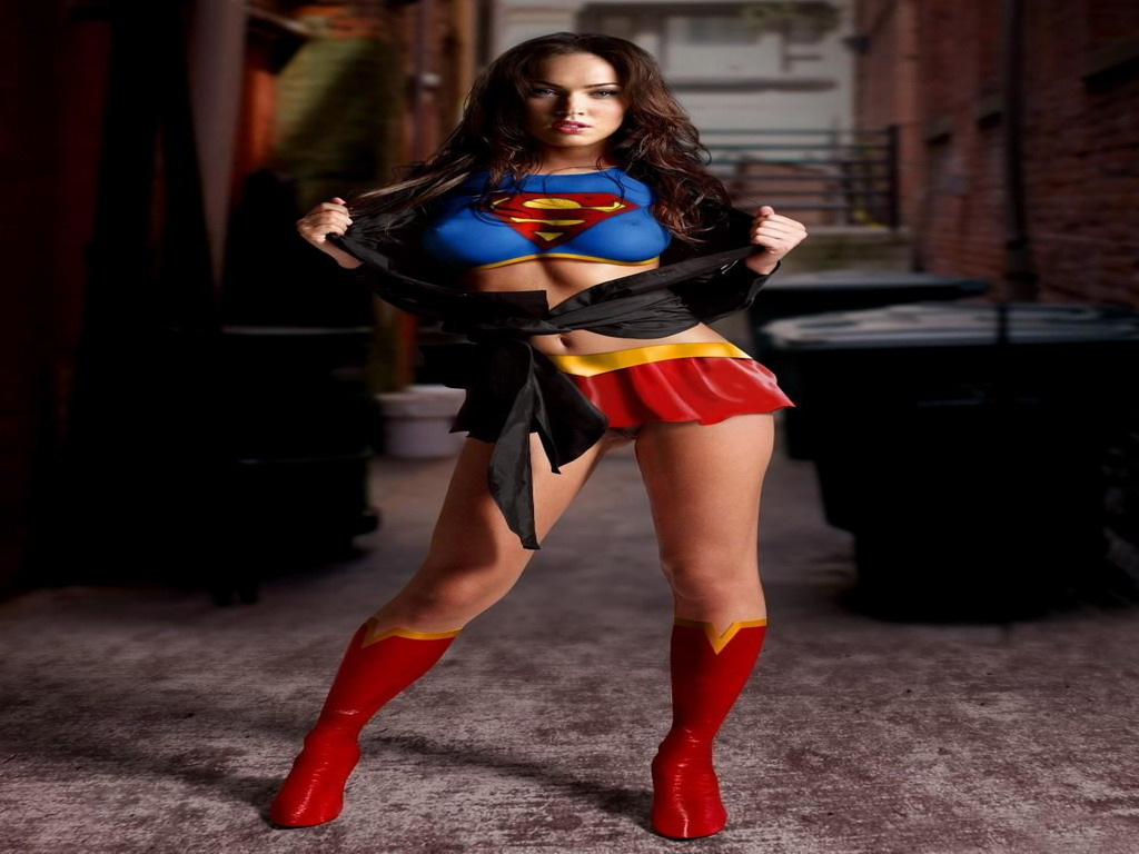 Online Wallpapers Shop Megan Fox Wallpapers: Megan Fox Supergirl Wallpaper