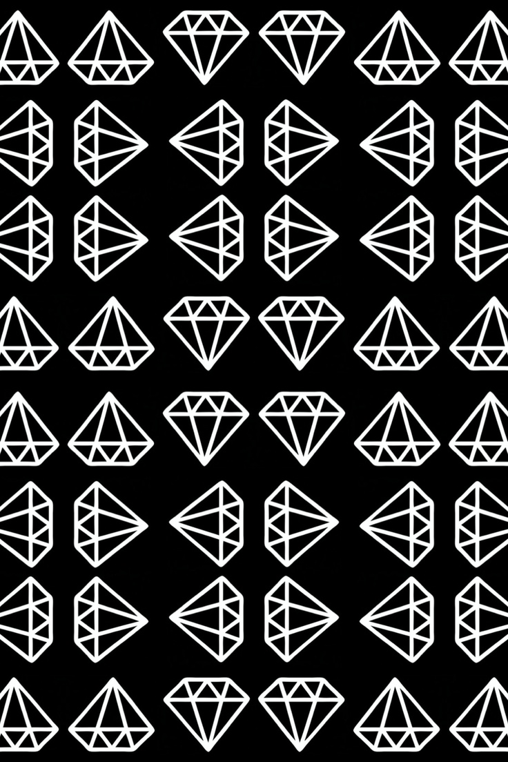 Iphone wallpaper tumblr dope - Iphone Wallpapers Funds Diamond Pattern Wallpapers Backgrounds