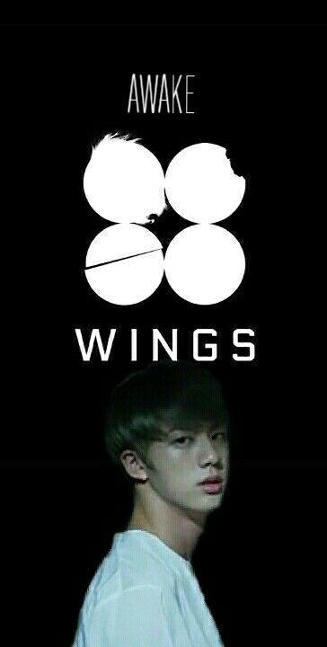 Jin wings awake bts shortfilm wallpaper BTS edits 364x720