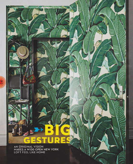 The Glam Pad Marvelous Martinique Banana Leaf Wallpaper vs the 555x682
