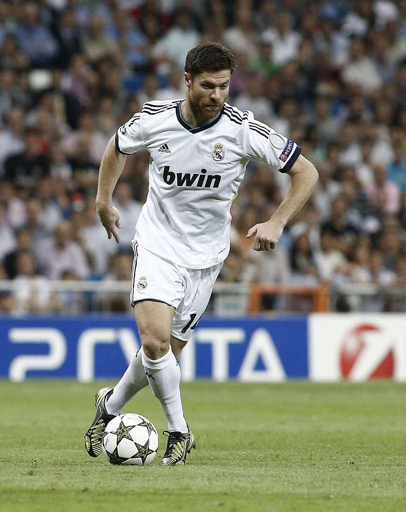 2014 xabi alonso real madrid wallpapers Desktop Backgrounds for 811x1023