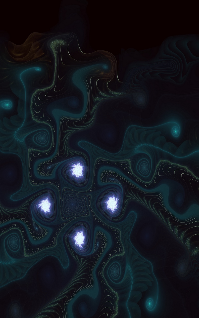 Download wallpaper 800x1280 fractal patterns dark twisted 800x1280