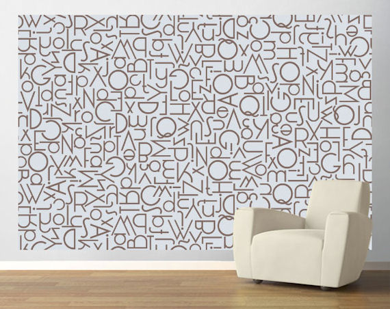 Words Wallpaper For Walls Wall sticker outlet 570x452