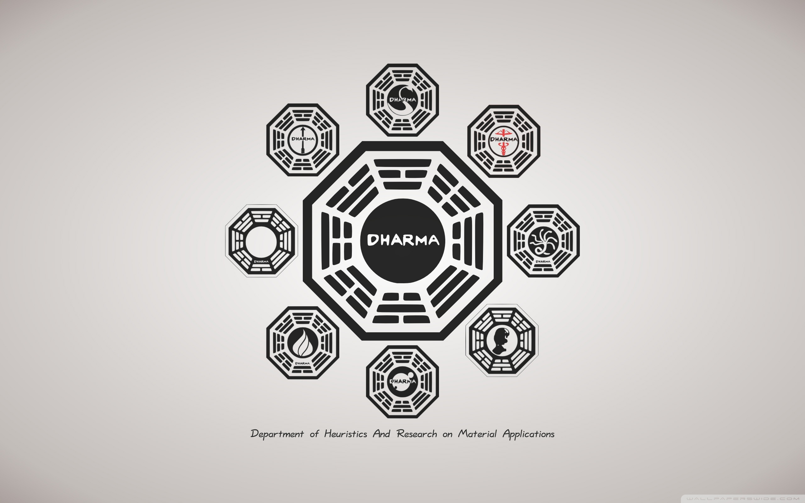 Lost TV Series Dharma 4K HD Desktop Wallpaper for 4K Ultra HD 2560x1600