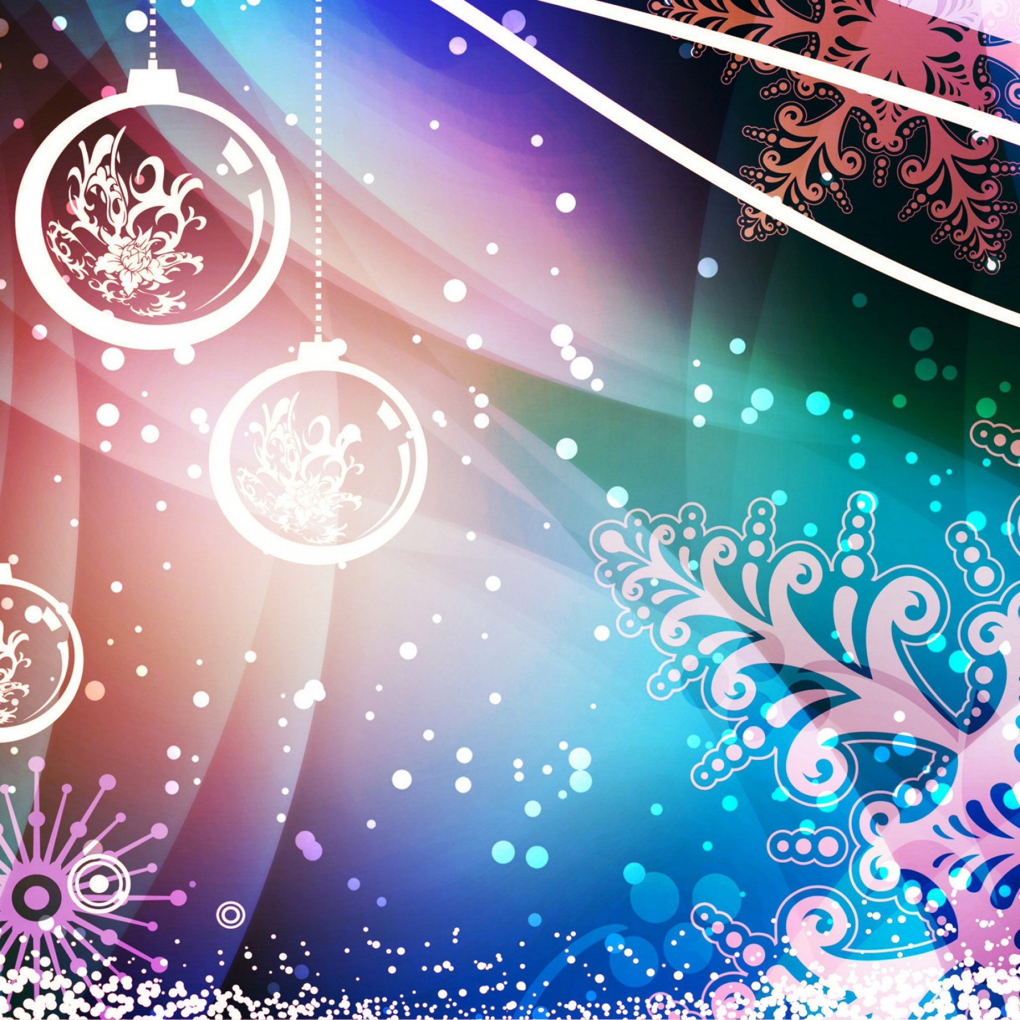 New iPad HD Christmas Wallpaper - WallpaperSafari