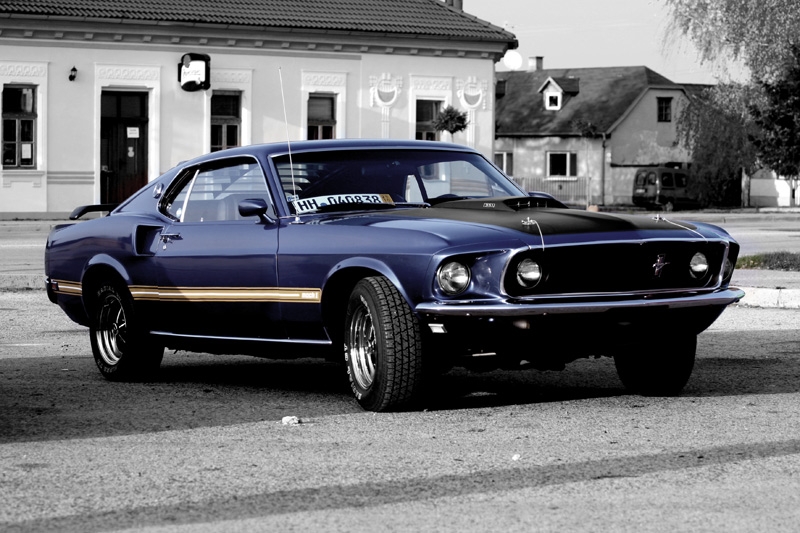 69 Mustang Wallpaper Ford mustang 69 mach 1 by 800x533