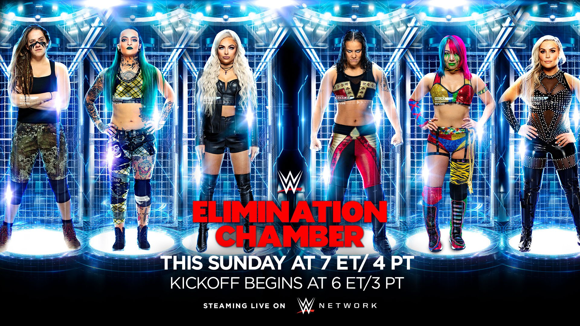 WWE Elimination Chamber 2020 Match Card How to Watch Previews 1920x1080