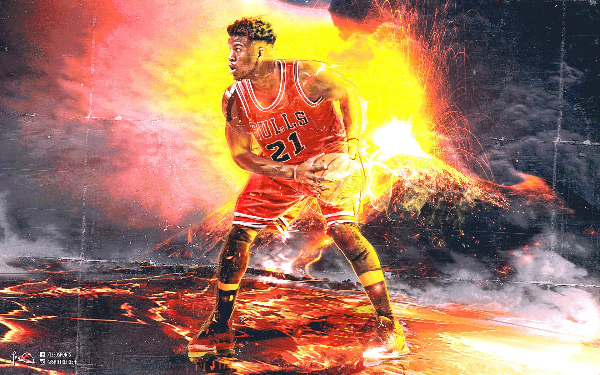 Jimmy Butler Chicago Bulls 2016 Wallpaper Basketball Wallpapers at 1920x1200